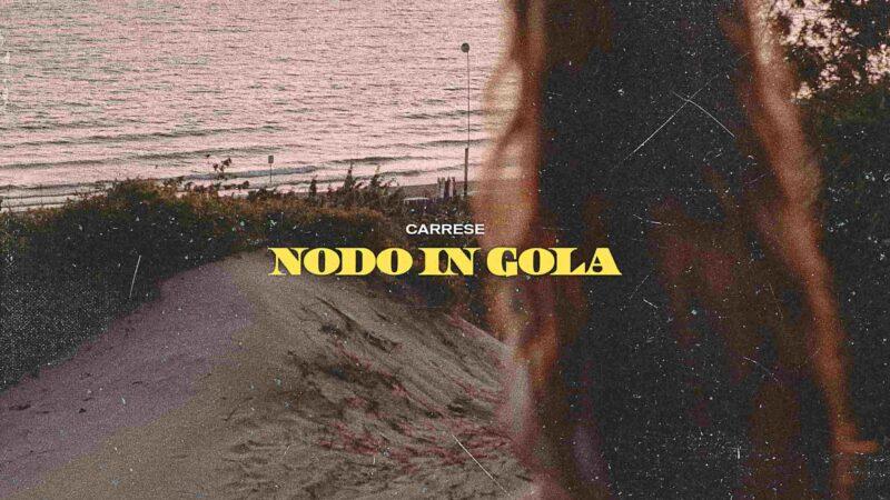 Carrese, da oggi Nodo in gola in radio e streaming