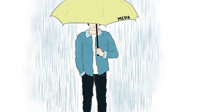 Come piove, il primo singolo del giovane cantante Meda