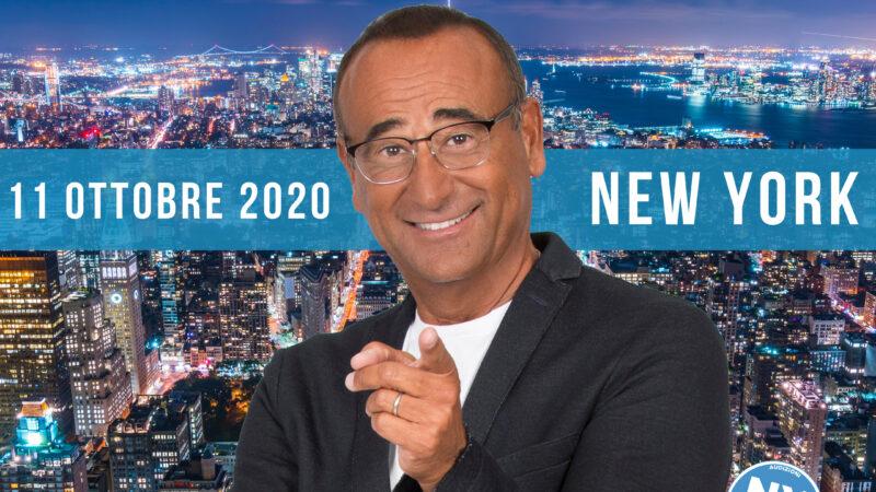 New York Canta 2020 col presentatore Carlo Conti