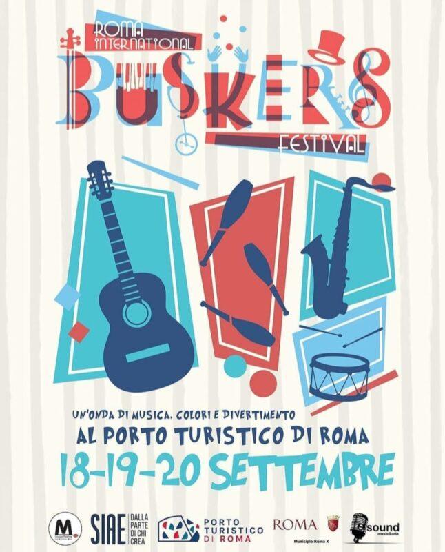Roma International Buskers Festival dal 18 settembre al Porto Turistico di Roma