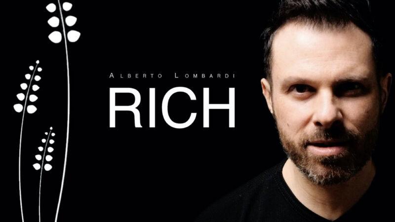 """Alberto Lombardi pubblica """"Rich"""" missato dal fonico di Springsteen"""