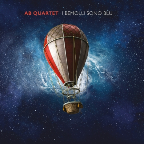 Ab quartet in digitale con I bemolli sono blu