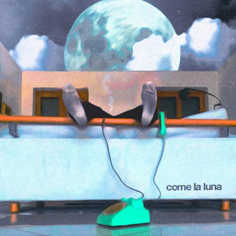 """In radio e streaming """"Come la luna"""" di Ugo Crepa"""