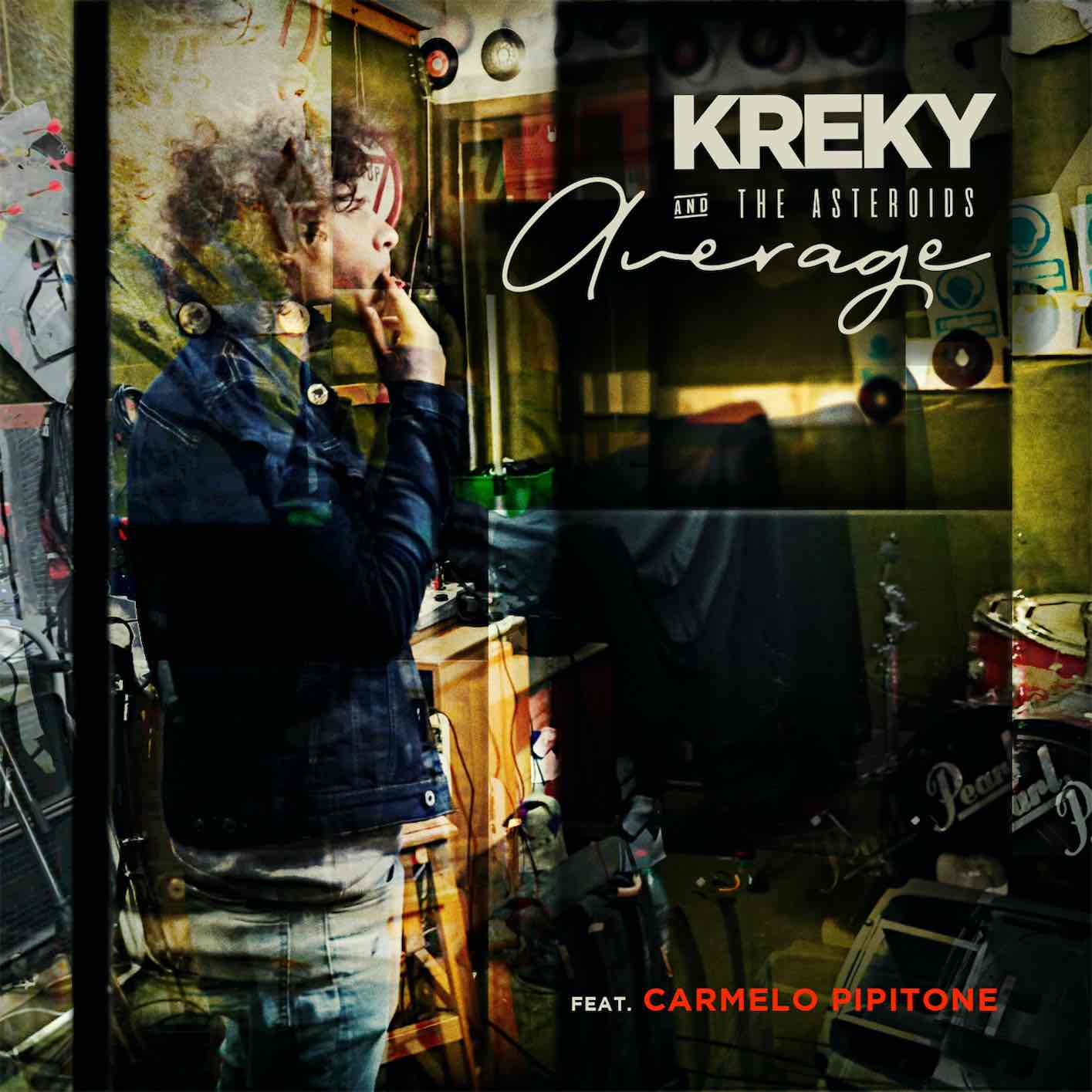 "KREKY & THE ASTEROIDS, DA OGGI IN RADIO E IN DIGITALE IL NUOVO SINGOLO ""AVERAGE"" feat. Carmelo Pipitone"