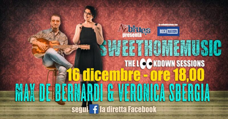 Max&Veronica, live Facebook streaming con #SweetHomeMusic, domani ore 18:00