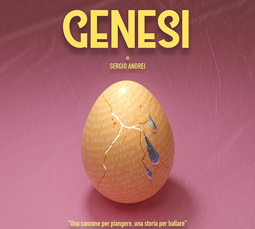 """Da oggi il nuovo capitolo musicale di Sergio Andrei """"Genesi"""""""