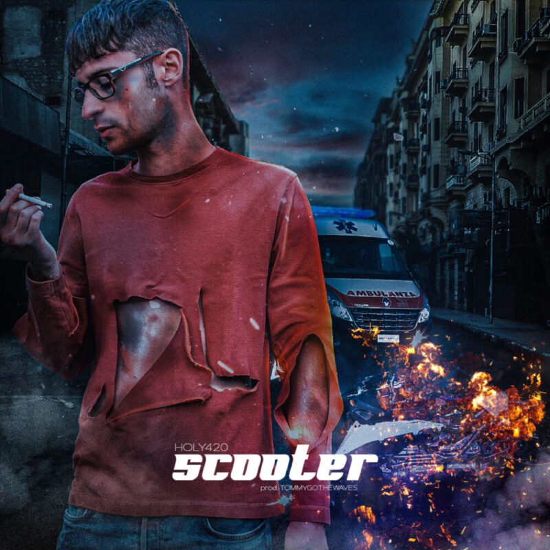 """Oggi esce in radio e in digitale il nuovo singolo del rapper torinese Holy 420, """"SCOOTER"""""""