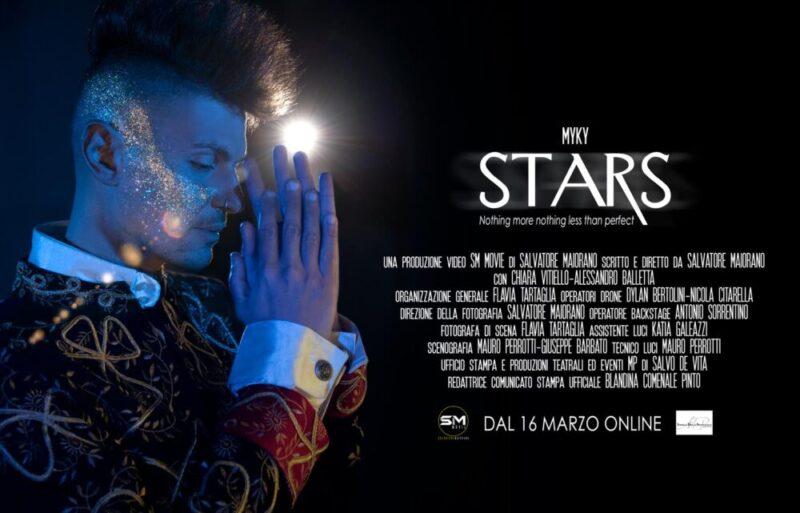 STARS, IL NUOVO SINGOLO DI MYKY – UN CANTO ALLA LIBERTA' DI NON ESSERE PER TUTTI